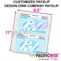 Customized Payslip 1c+1c @ 20bxs!