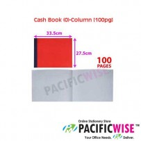 "CASH BOOK ""0""-Column (100 PAGES)"