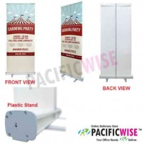 Plastic Roll-up Banner (80 (W) x 200 (H) cm)