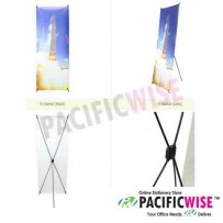 X stand with Yupo paper-60cm (W) x 180cm (H)
