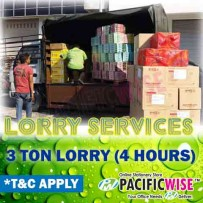 Lorry Delivery Services (3ton)-4hours