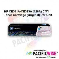 HP CE311A-CE313A (126A) CMY Toner Cartridge (Original) Per Unit