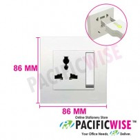 Schneider C-Vivace 13A 1 Gang 3-Pin Switched Socket