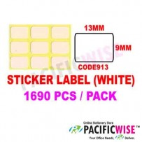 Sticker Label (9mmx13mm)