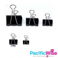 DOUBLE CLIP 25MM (12PCS/BOXES)