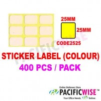 Sticker Label (25mmx25mm) (WITH COLOR)