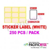 Sticker Label (25mmx38mm)