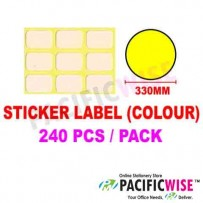 Sticker Label (330mm) (WITH COLOR)