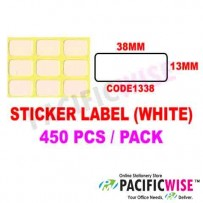 Sticker Label (38mmx13mm)