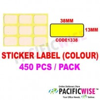 Sticker Label (38mmx13mm) (WITH COLOR)