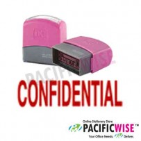 Self-Inking Stamp (RED)-CONFIDENTIAL