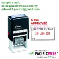Shiny™ S-404 Self-Inking Dater APPROVED