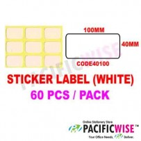 Sticker Label (40mmx100mm)