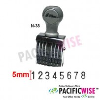Shiny N-38 Numbering Stamp