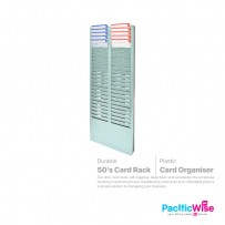 Plastic Punch Card Rack (50's)