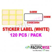 Sticker Label (30mmx64mm)