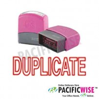 Self-Inking Stamp (RED)-DUPLICATE