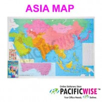 Asia Map (A175)