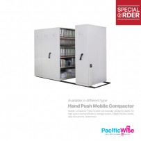 8 Bay Hand Push Mobile Compactor (S117/C)