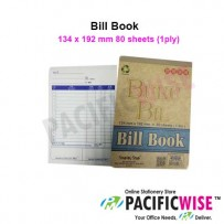 Cash Bill Book 1ply (13.4cmx19.2cm)
