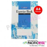 Foolscap CAMPAP CW2510 Exercise Book 200pg single line
