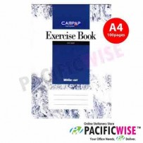 CAMPAP CW2509 A4 Exercise Book Single Line 100 Pages