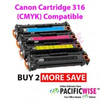 Canon Cartridge 316 (CMYK) Compatible