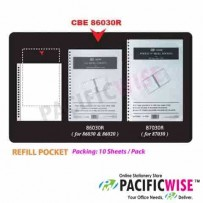 CBE 86030R/86020 Refill Pocket
