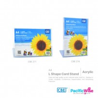 CBE L Shape Card Stand A4