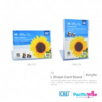 CBE L Shape Card Stand A5