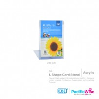 CBE L Shape Card Stand A6 (Vertical)