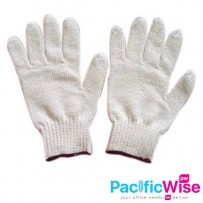 COTTON GLOVE (GRED C) - 12 PAIRS