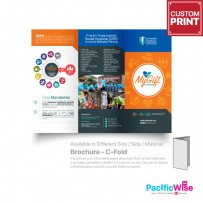 Customized Printing Brochure (C-Fold)-80gsm Simili Paper A3