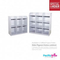 6 Pigeon Holes Side Table (C113/A)
