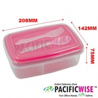 Lunch Box with Cutlery Set (FLB2167)