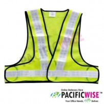 Green Reflective Safety Vest HS-736