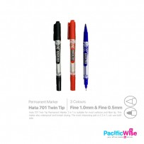 Hata 701 Twins Tip Permanent Marker