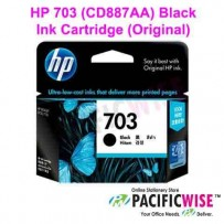 HP 703 (CD887AA) Black Ink Cartridge (Original)