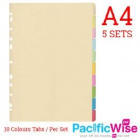 Index Divider 10 colours