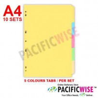 Index Divider 5 colours