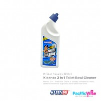 Kleenso 3 In 1 Toilet Bowl Cleaner (600ml)