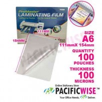 Laminating Film A6 (111 mm x 154 mm x 100 U)