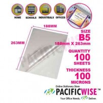 Laminating Film B5 (188 mm x 263 mm x 100 U)