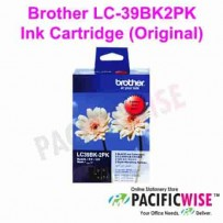 Brother LC-39BK2PK Ink Cartridge (Original)