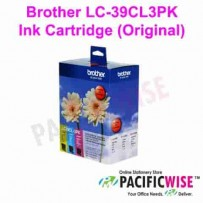 Brother LC-39CL3PK Ink Cartridge (Original)