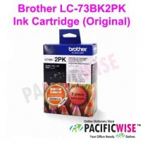 Brother LC-73BK2PK Ink Cartridge (Original)