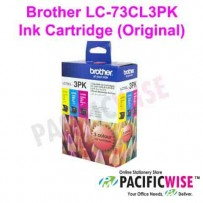 Brother LC-73CL3PK Ink Cartridge (Original)
