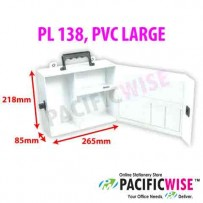 Empty First Aid Boxes (PL 138, PVC LARGE)