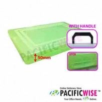 Plastic Document Case F4 (50mm)