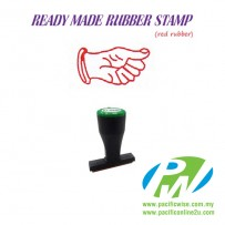 Ready-Made Rubber Stamp (HAND-E34)